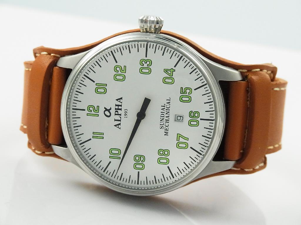 Alpha Watch Parts Names Wrist Diagram Military Umiversal Sun Dial